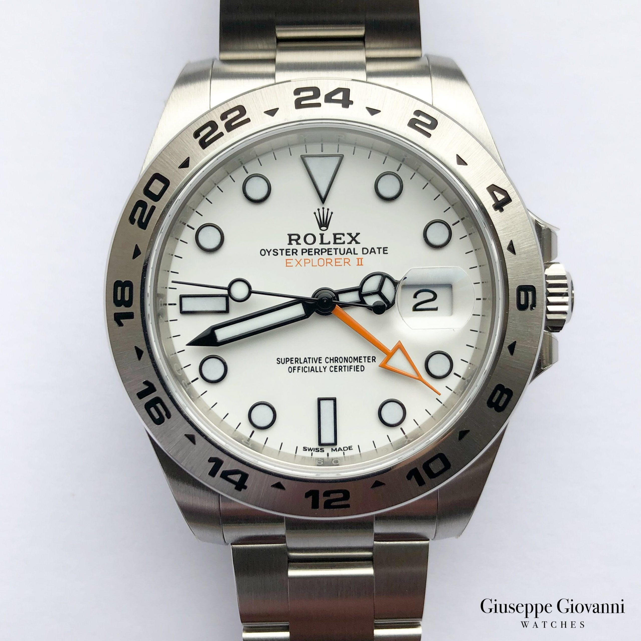 Rolex Explorer 216570 Oystersteel WhiteDial Oyster Bracelet 2019 1