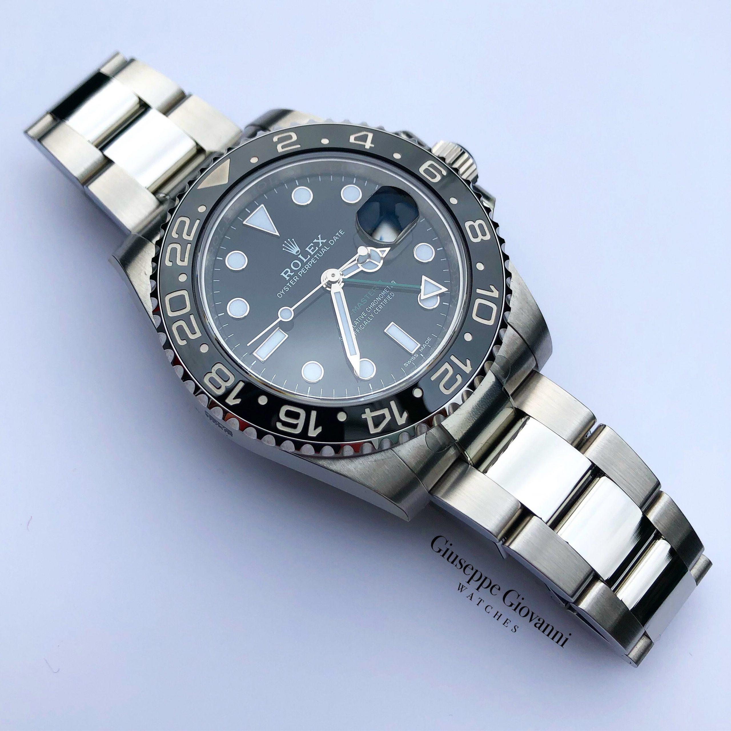 Rolex GMT 116710LN Oystersteel BlackDial Oyster Bracelet 1 1