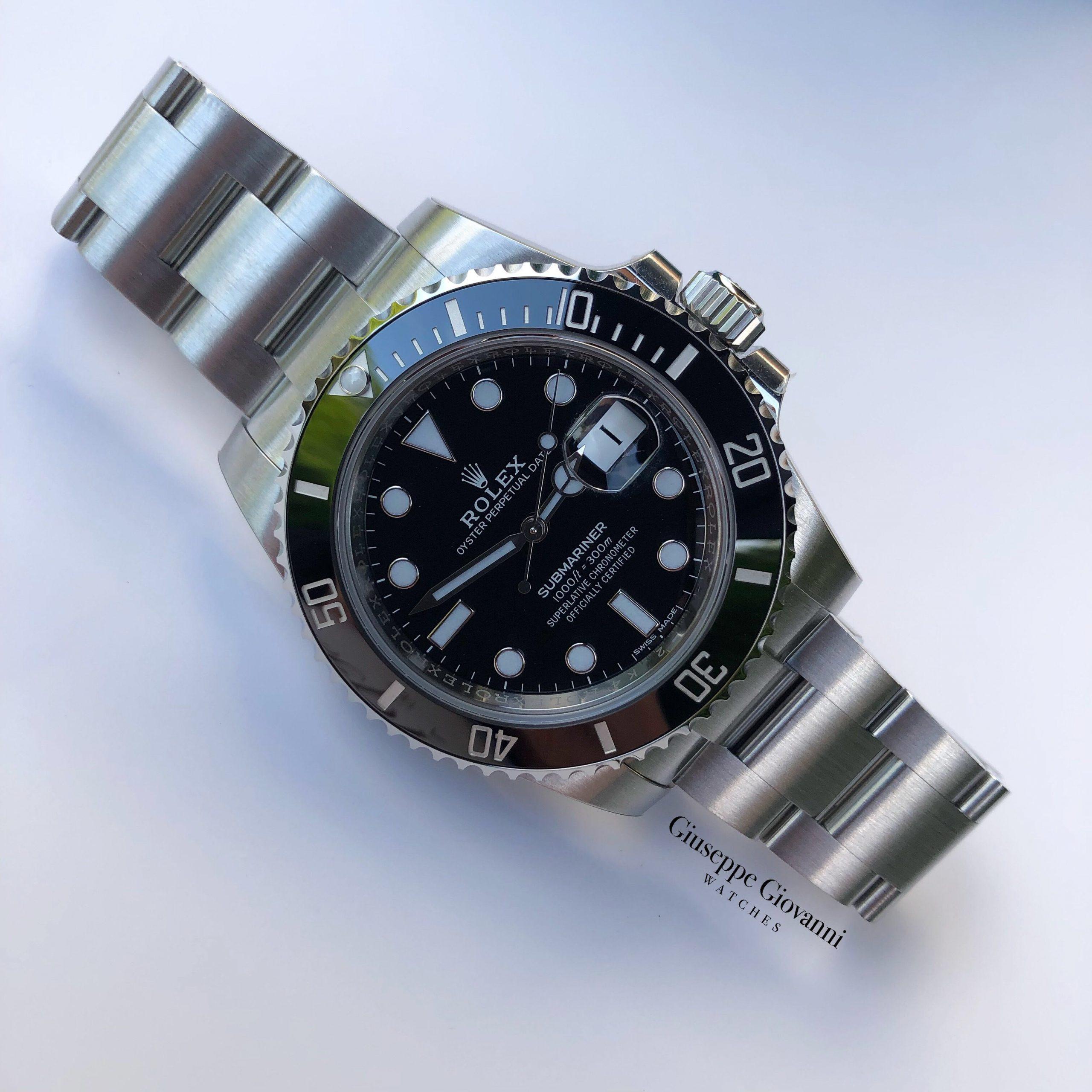 Rolex Submariner date 116610LN Oystersteel Black Dial Oyster Bracelet 2018 1