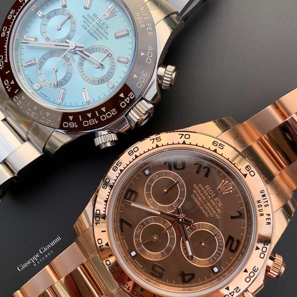 Rolex Daytona 116505 116506 Platinum EveroseGold Home
