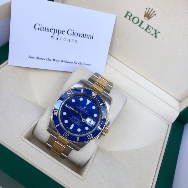 Rolex Submariner 116613LB YellowGoldOystersteel OysterBracelet BlueDial 3