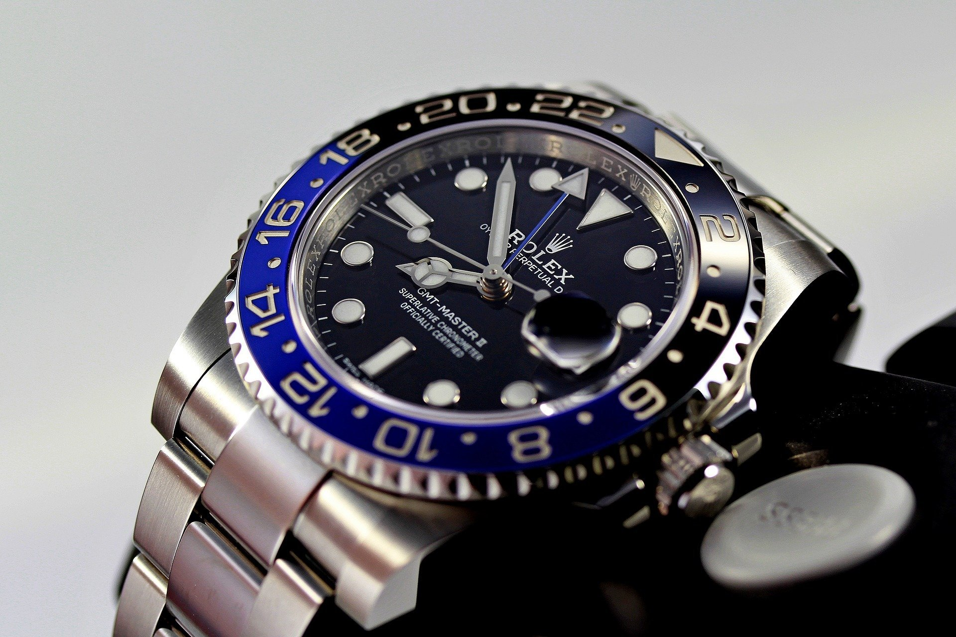 GiuseppeGiovanniWatches Rolex GMT 116710BLNR Oystersteel BlackDial OysterBracelet Batman BannerImage Home