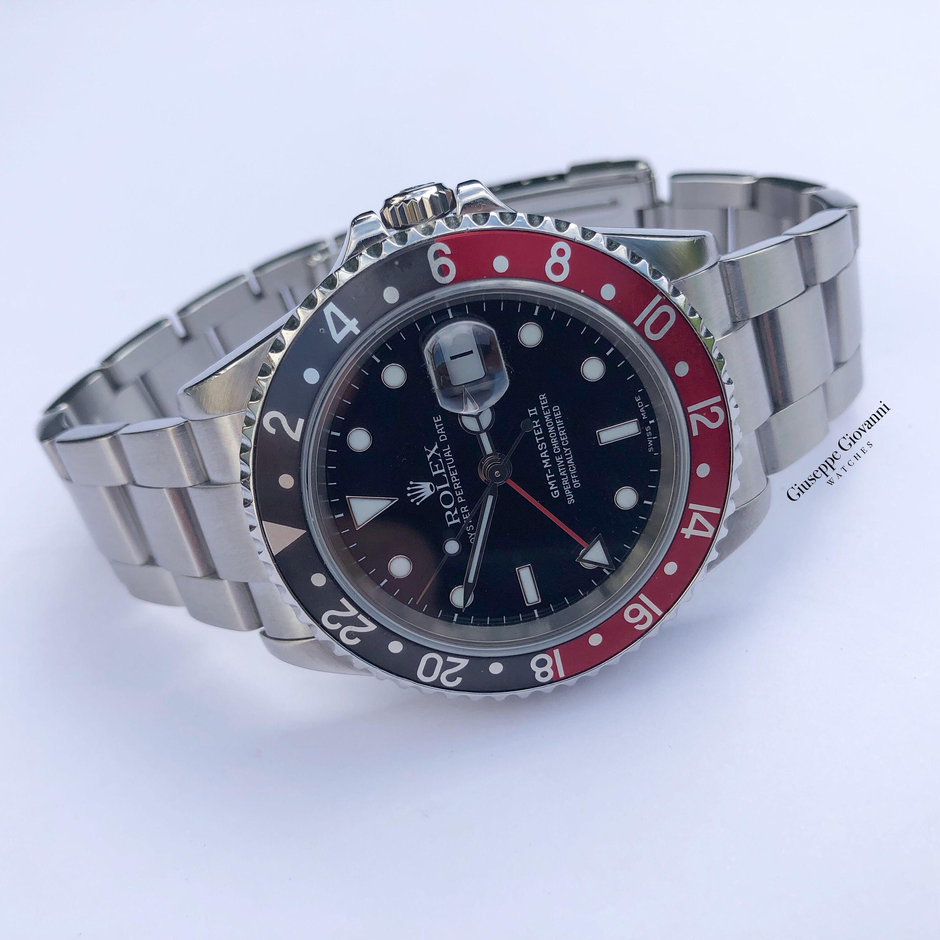 1 Rolex GMT Master 16710 Oystersteel Black Dial Coke Bezel 2006