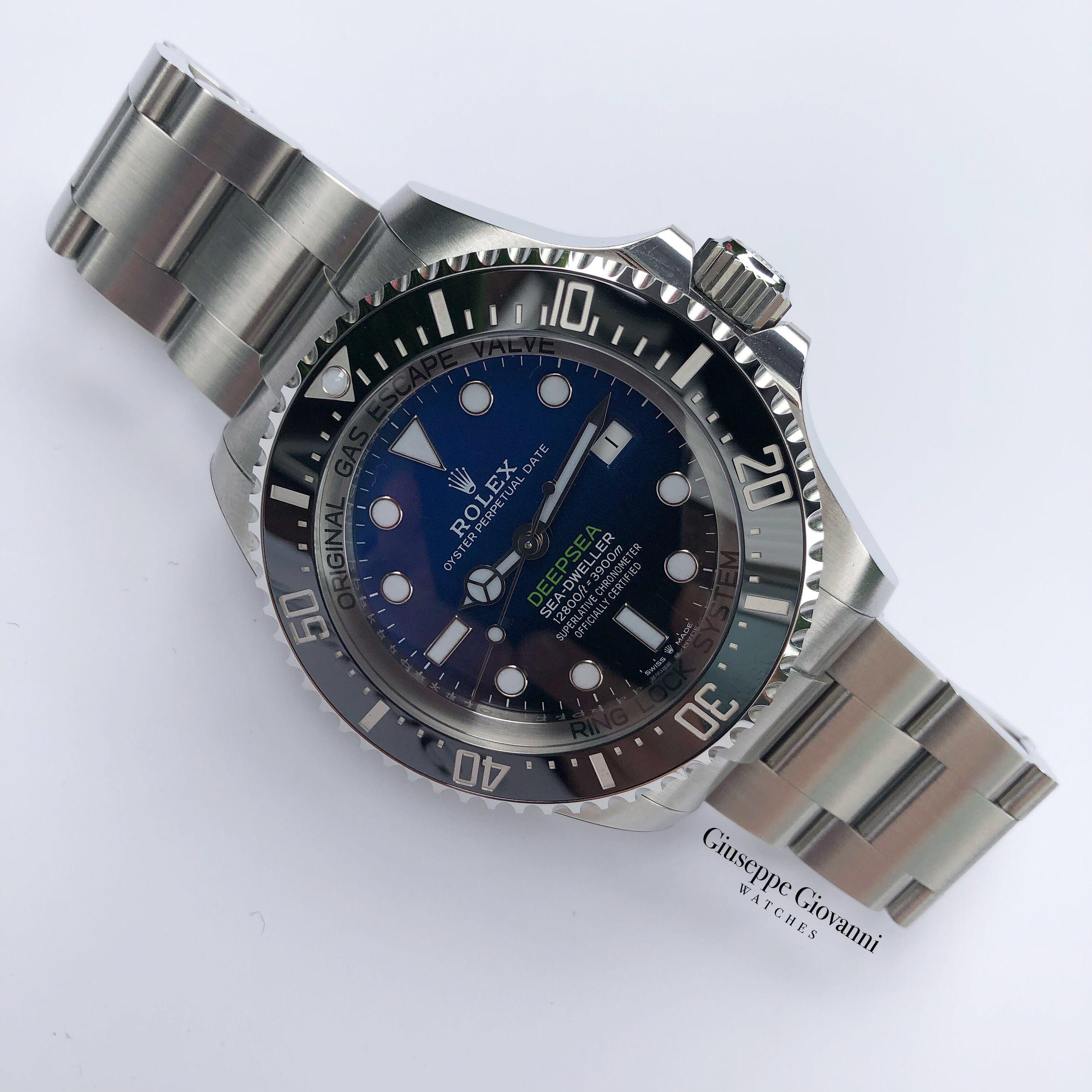 1 Rolex Deep Sea 126660 James Cameron 2019 Steel Sea Dweller