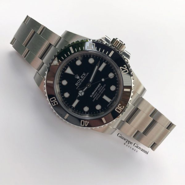 1 1 Rolex Submariner 114060 Oystersteel Black Dial Oyster Bracelet