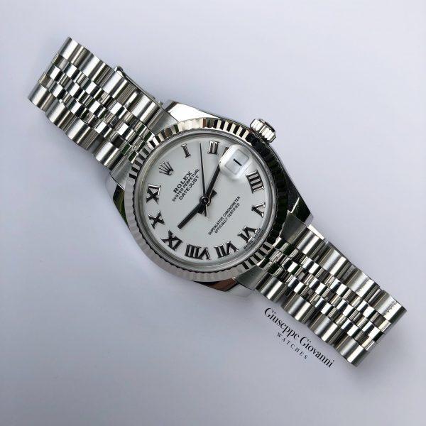 Rolex Date Just 31 178274 White Roman Numeral Dial Oyster Steel Jubilee Bracelet 2018