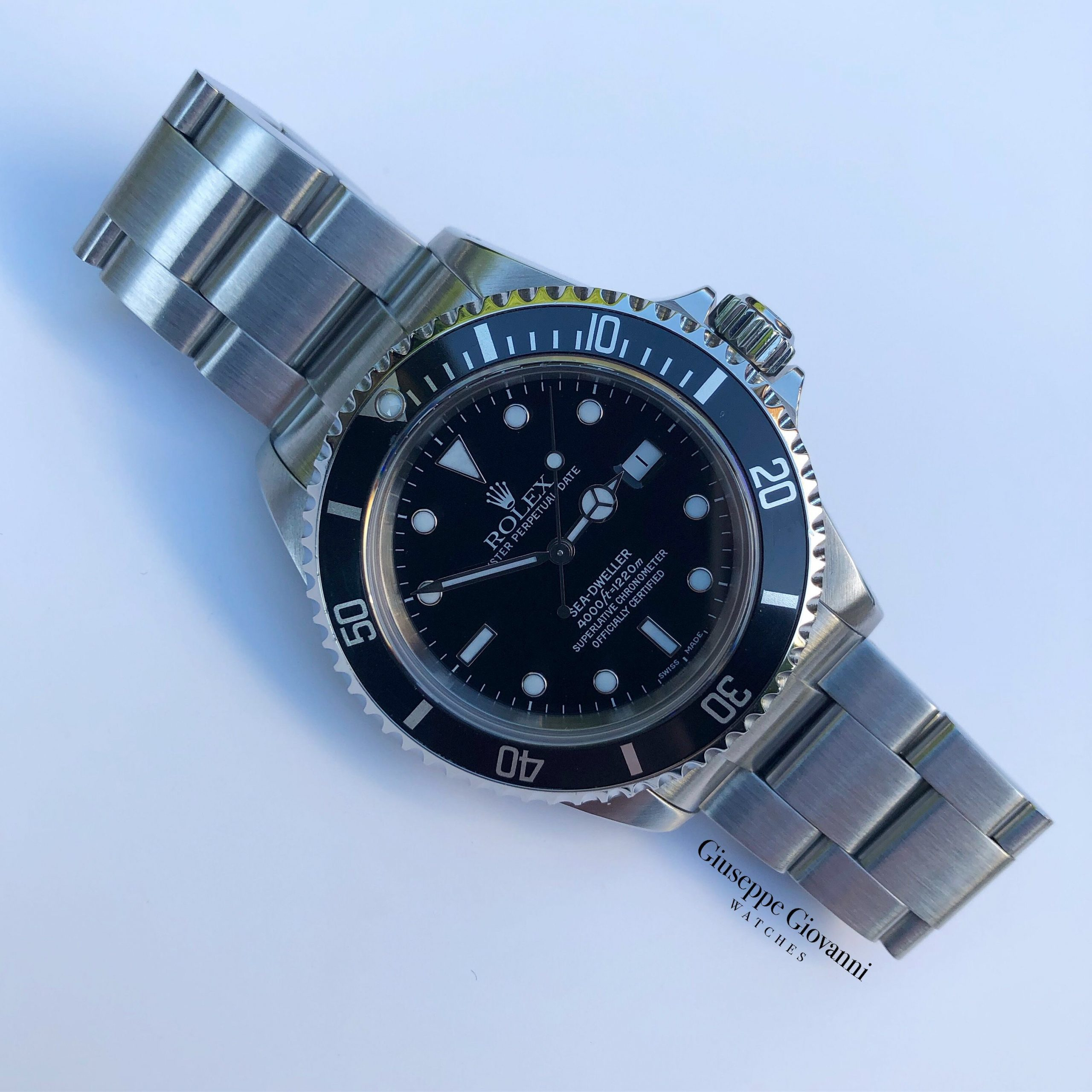 Rolex Sea Dweller 16600 Stainless Steel Luminova 2005