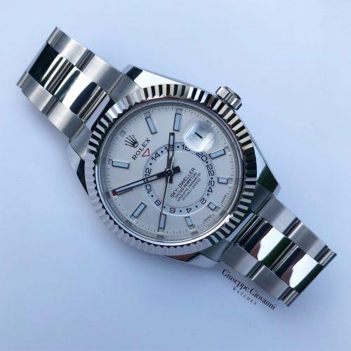 Rolex SkyDweller 326934 White Dial Oyster Bracelet 2020