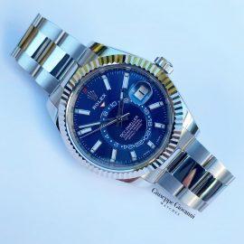 1 1 1 Rolex SkyDweller 326934 Blue Dial Oyster Bracelet 2019