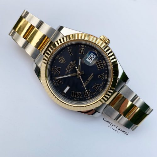 1 Rolex Date Just 2 116333 Yellow Gold Oystersteel Oyster Bracelet 2015