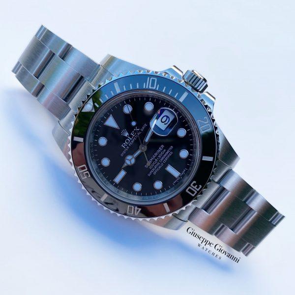 1 1 Rolex Submariner Date 116610LN Oystersteel Black Dial Oyster Bracelet 2018