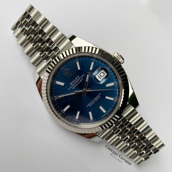 1 Rolex Date Just 41 126334 Oystersteel Blue Dial Jubilee Bracelet 2020